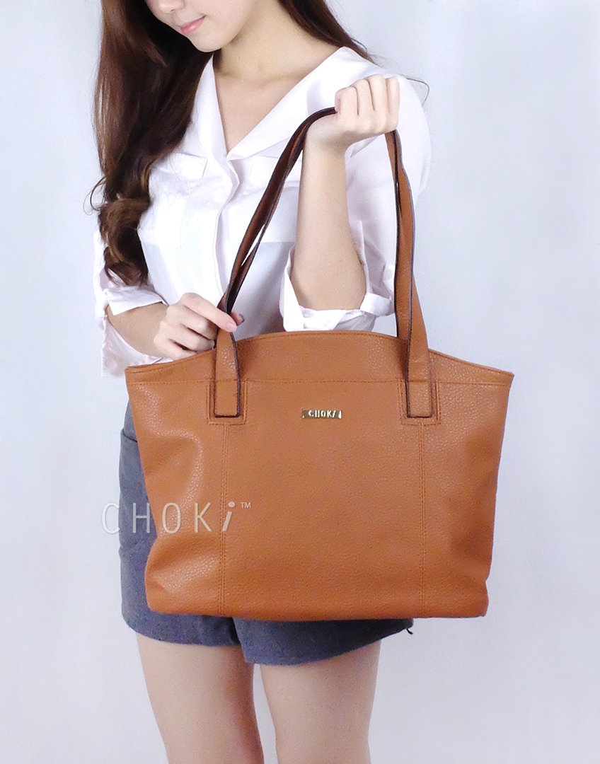 Choki.com.my - 6079 Classic PU Leather Shoulder Bag RM32.50