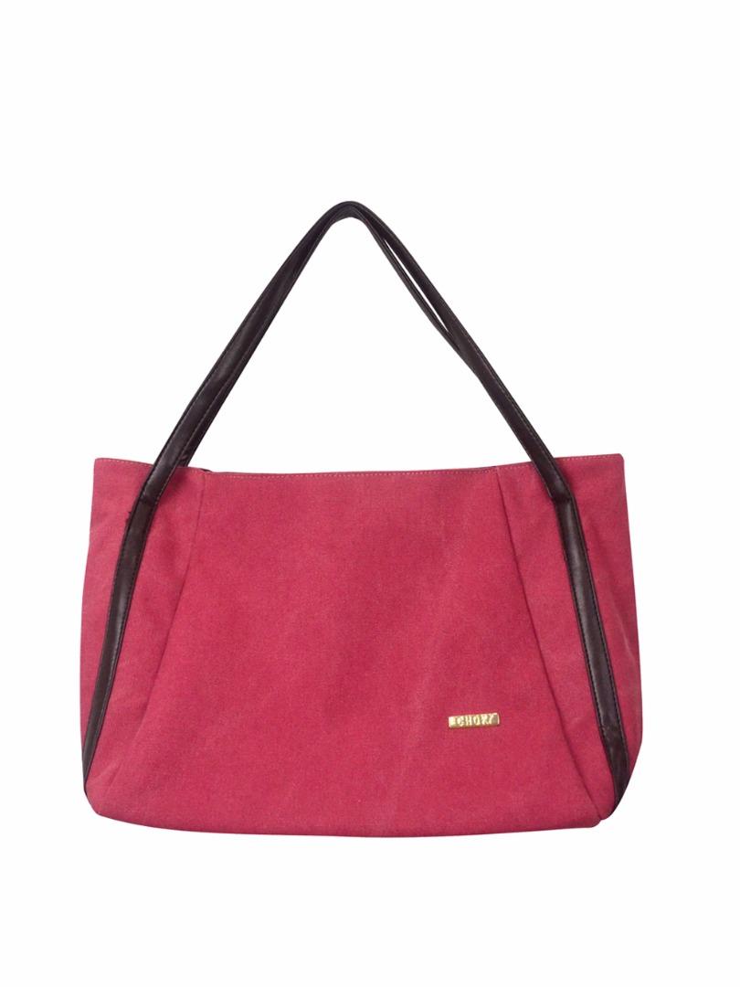 Choki Shoulder Bag - 5113 Choki Signature Canvas Handbag Red RM49.00