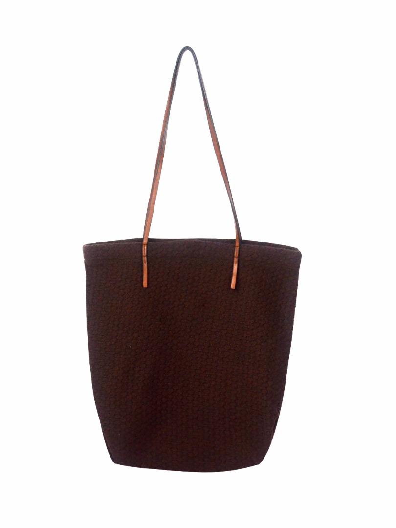 Choki Shoulder Bag - 5177 Knitted Bag from Korea DarkBrown RM79.00