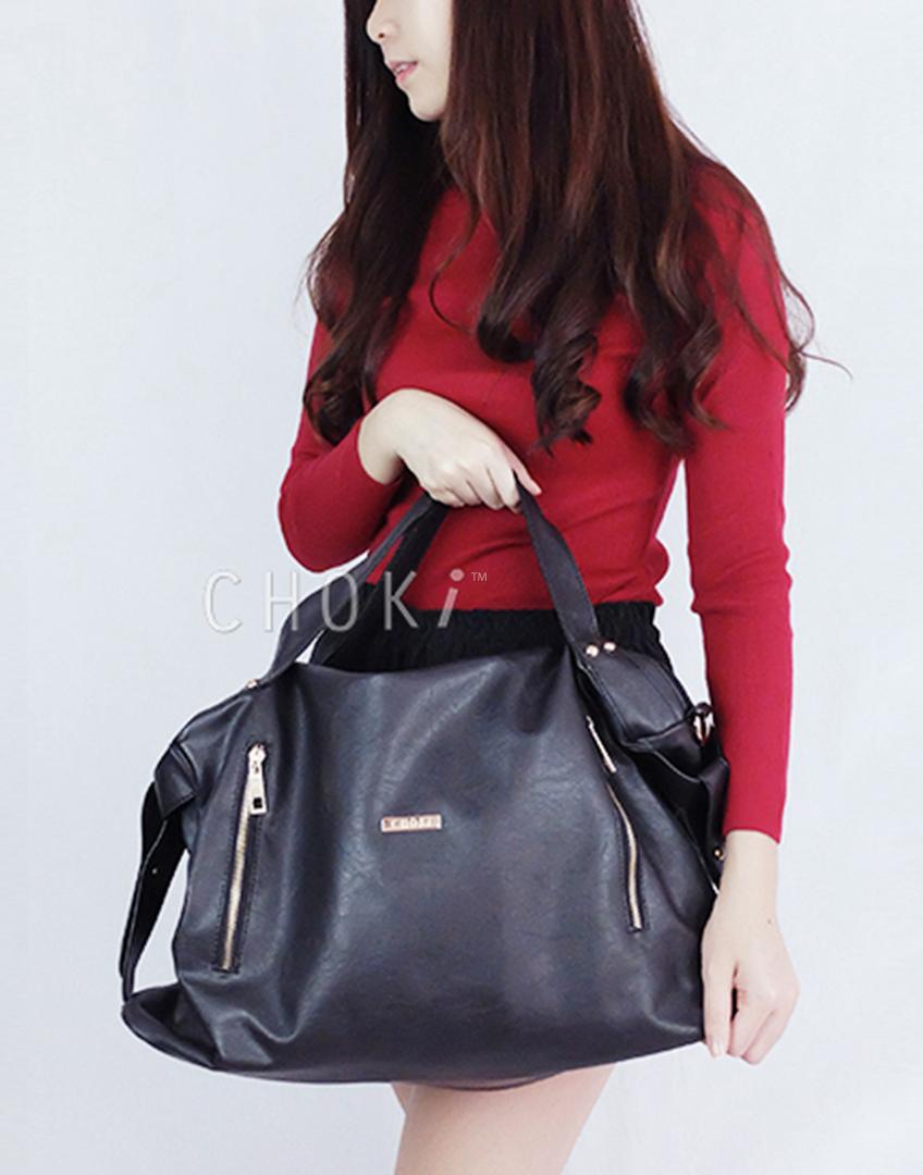 Choki.com.my - 5126 Choki Signature Classy Handbag with Sling RM59.00