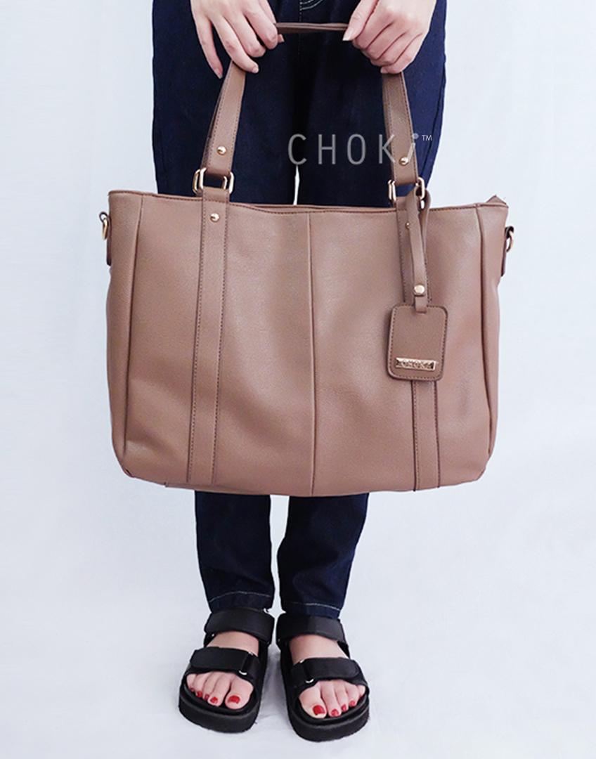 Choki.com.my - 5123 Choki Signature Basic Shoulder Bag with sling RM55.00