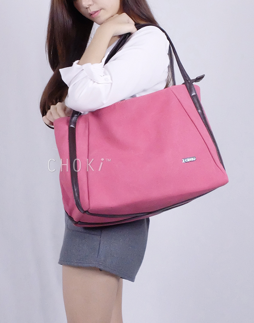 Choki.com.my - 5113 Choki Signature Canvas Handbag RM35.00