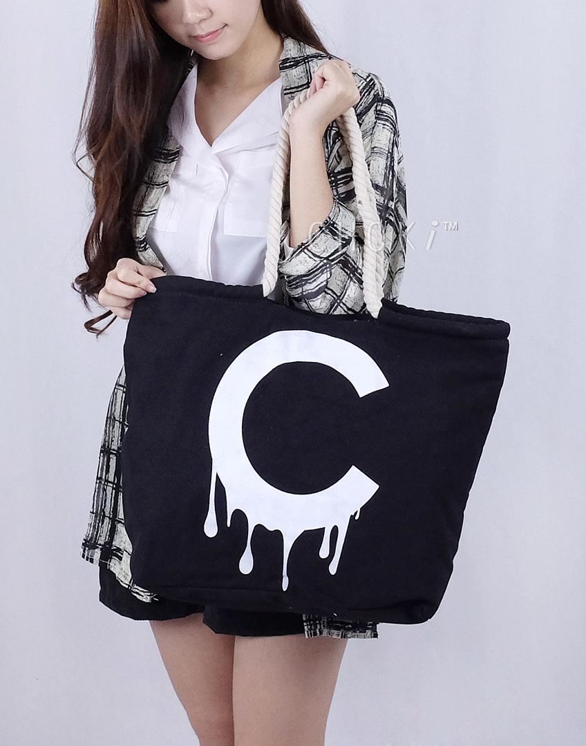 Choki.com.my - 5031 Choki C Canvas Tote RM39.00