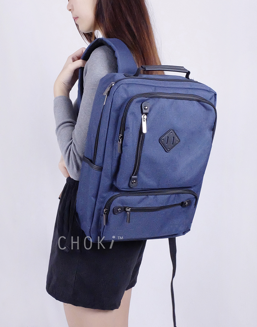 Choki.com.my - 6056 Choki Korean Unisex Backpack RM47.20