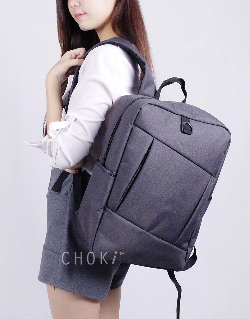 Choki.com.my - 6055 Choki Korean Unisex Backpack RM47.20