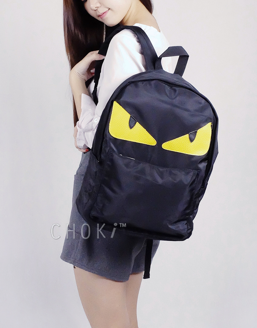 Choki.com.my - 5033 Choki Monster Eyes Backpack RM47.20