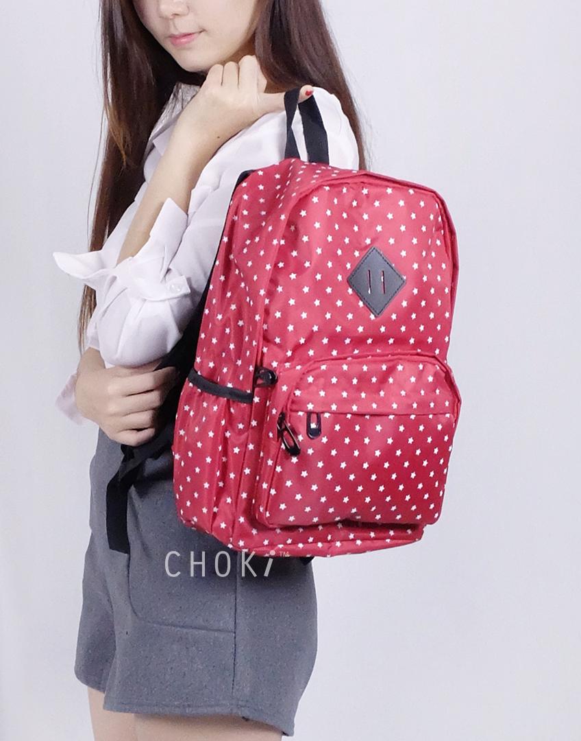 Choki Backpack - 5141 Korean Starry Night Backpack default RM45.00