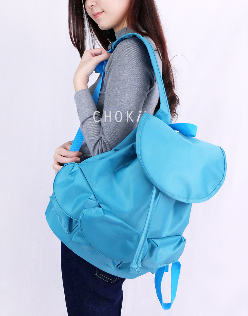 Choki.com.my - 5185 Choki Colorful Nylon Water Resistant Backpack RM27.50