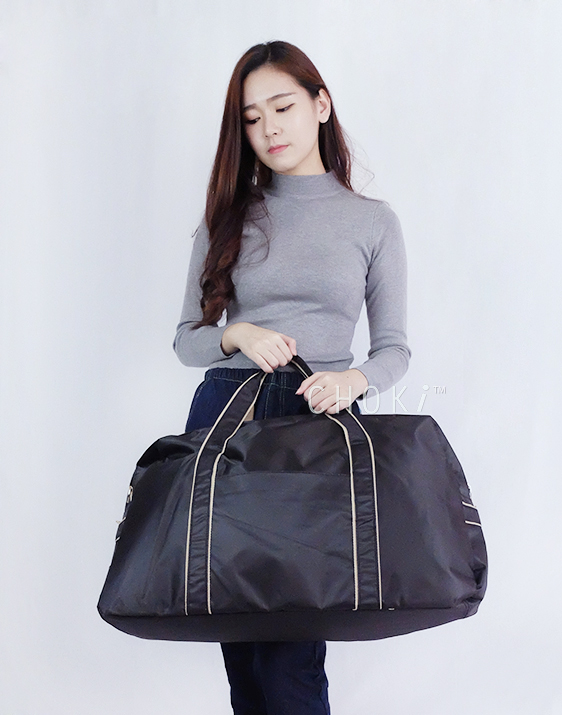 Choki.com.my - T001 Choki Light Weight Foldable Travel Bag (Big) RM30.00