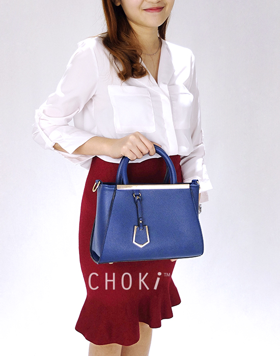 Choki.com.my - 6043 Elegant Classic Handbag with Mini Tag RM65.00